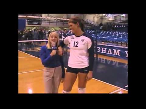 Tall Volleyball Player
