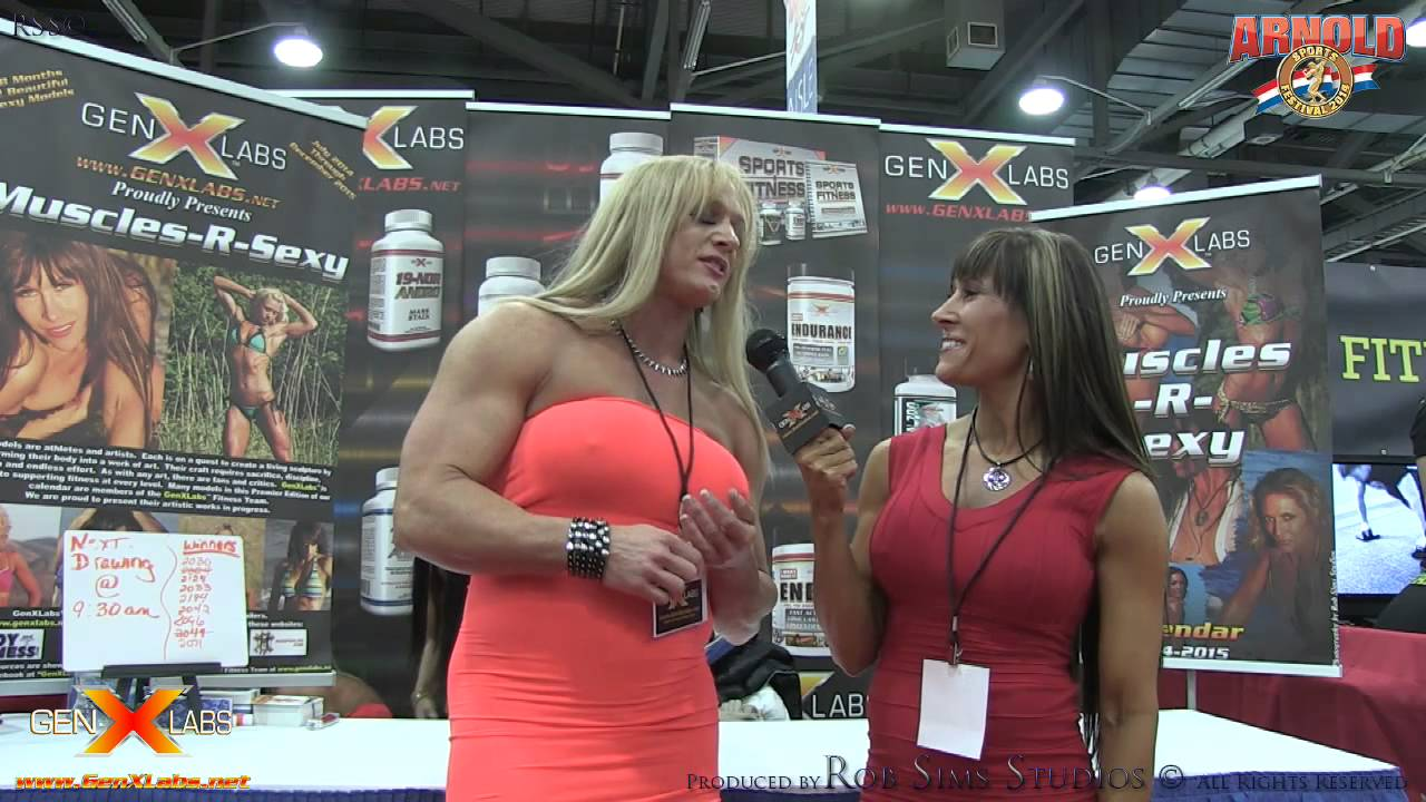 Shawna Strong Interview At The Arnold Classic 2014