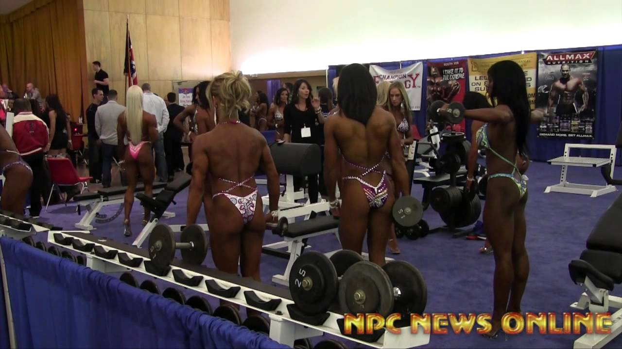 Arnold Classic 2014 – Figure Pump Up Room