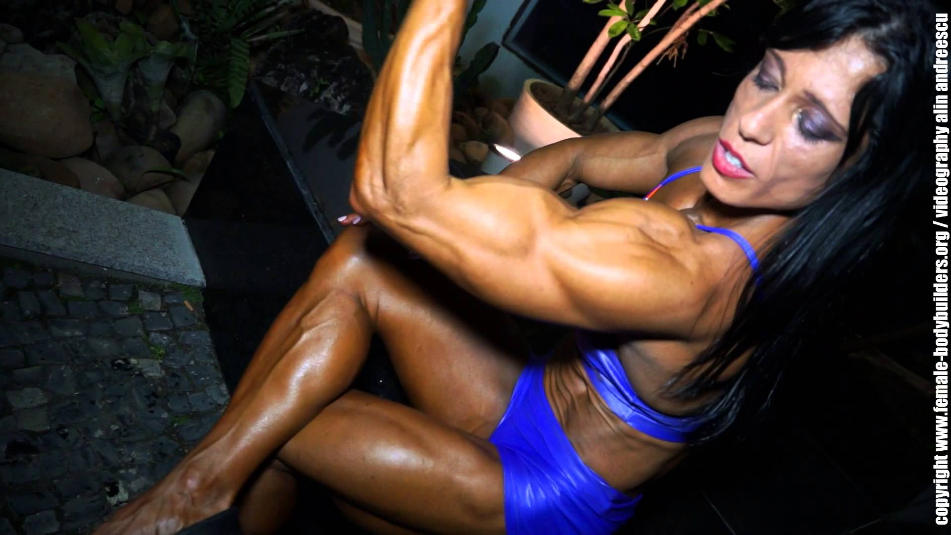 An Da Jeong – Korean Bodybuilder Workout