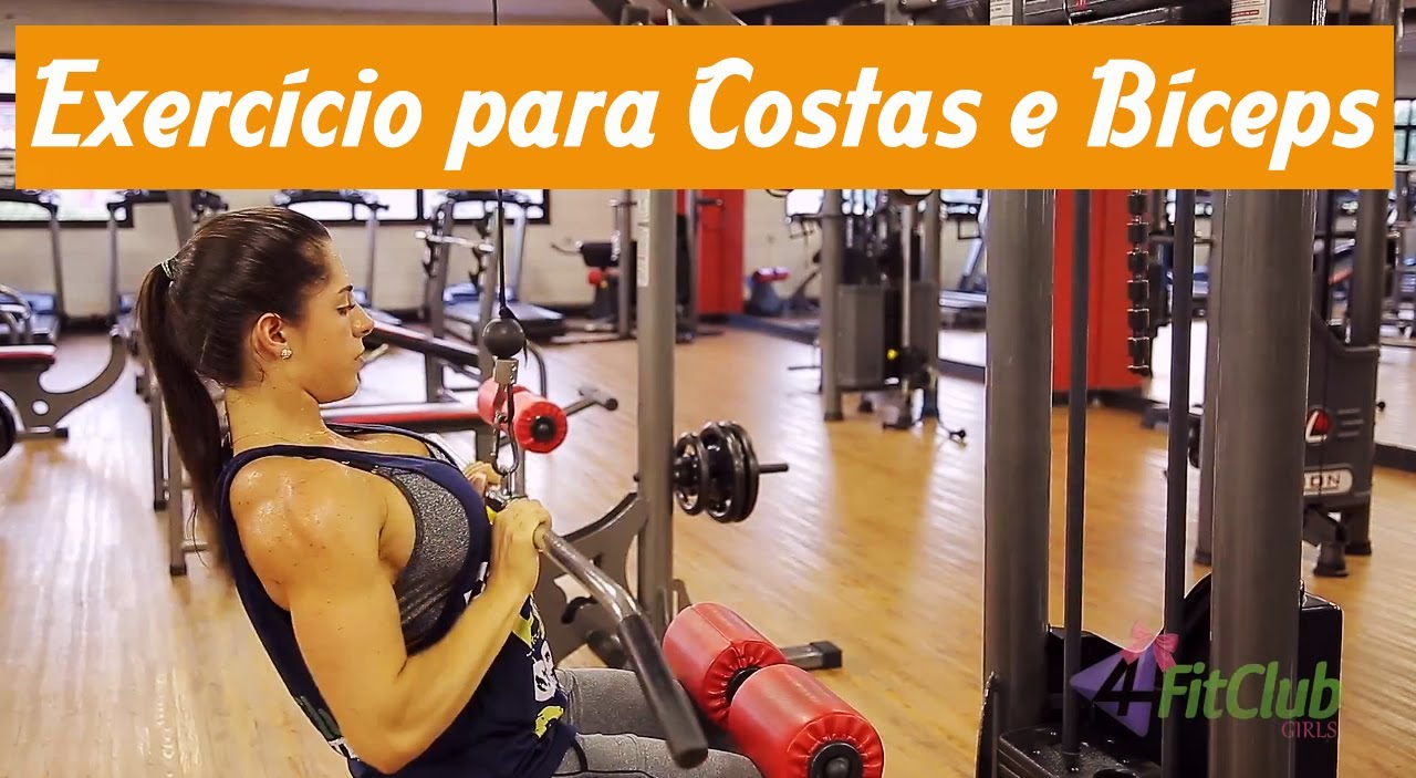 Nathalia Santoro – Back & Biceps Workout