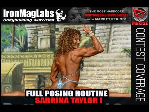 Sabrina Taylor – Posing Routine From Dallas Europa Games 2014