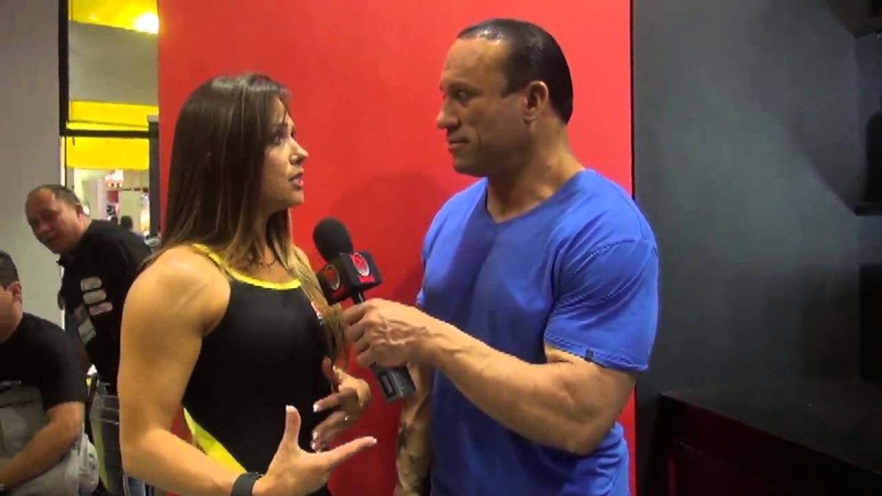 Oksana Grishina At The Arnold Classic Brazil 2014