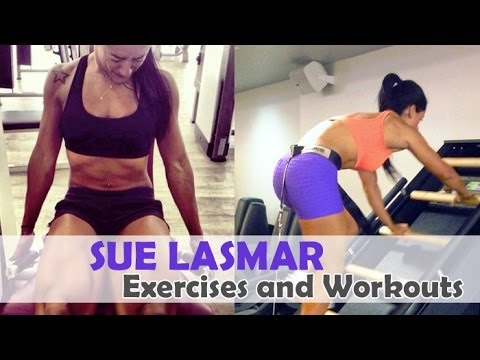 Sue Lasmar – Fitness Model Workout