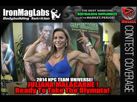 Juliana Malacarne At The NPC Team Universe 2014