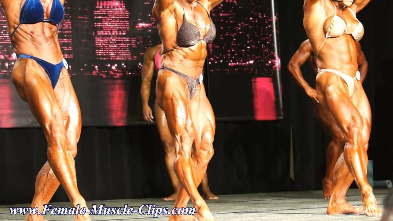 Chicago Pro 2014 – Womens' BodyBuilding Prejudging