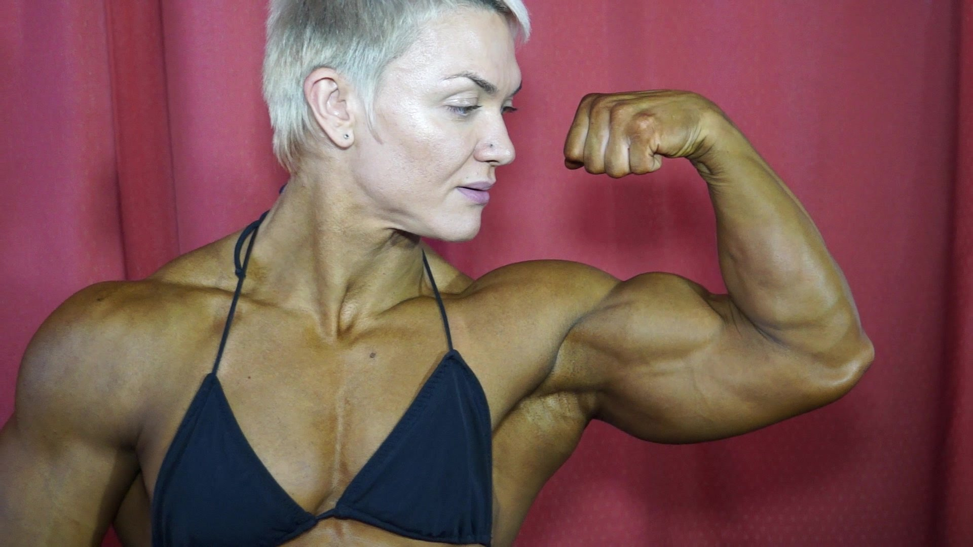 Yevgeniya Kirilych Female Bodybuilder