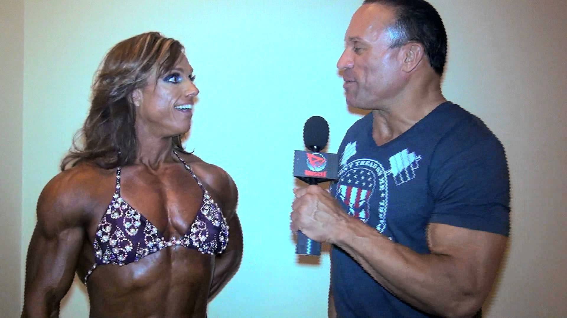 Sheila Bleck After Winning At The 2014 Tampa Pro