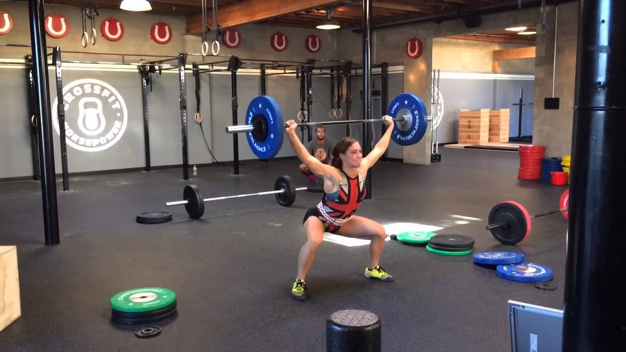 Andrea Ager – 3x135lb Power Snatch