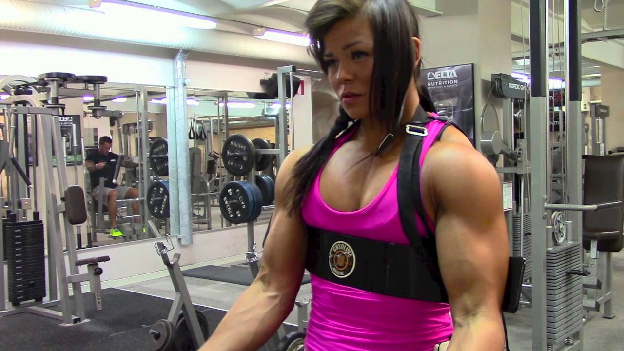 Sophie Arvebrink – Biceps Workout