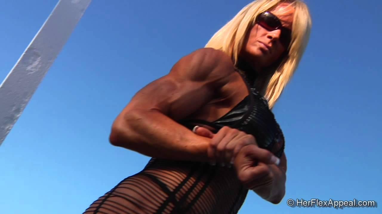 Lisa Giesbrecht Flexing