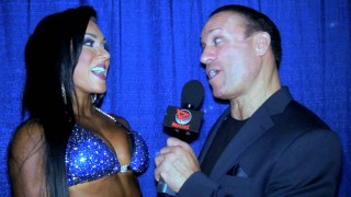 Laurin Conlin After Winning Bikini Overall At The 2014 NPC Nationals