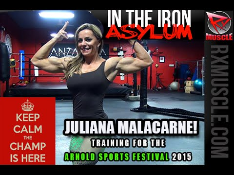 Juliana Malacarne – Legs Workout