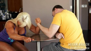 Megan Avalon Mixed Armwrestling