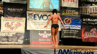 Dana Linn Bailey – Guest Posing at the NPC Natural Ohio 2015