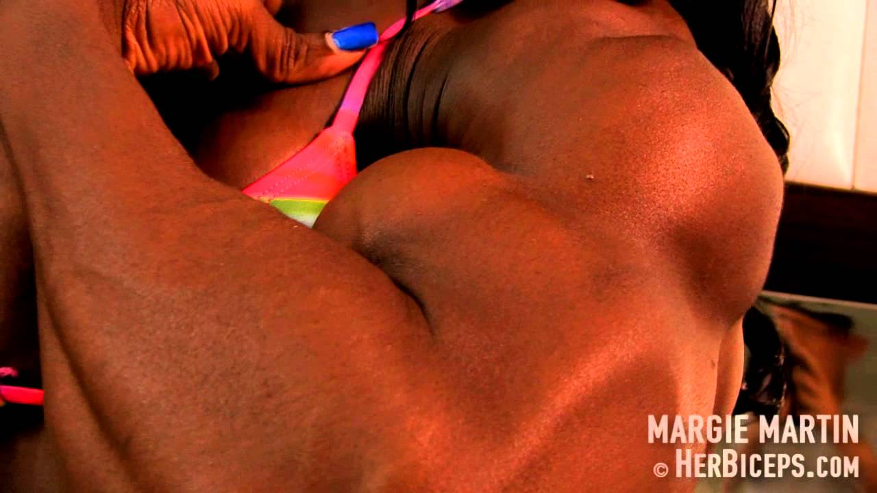 Margie Martin – Huge Biceps