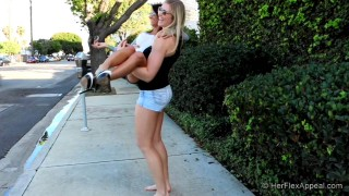 Danica And Riley – Walking And Lifting