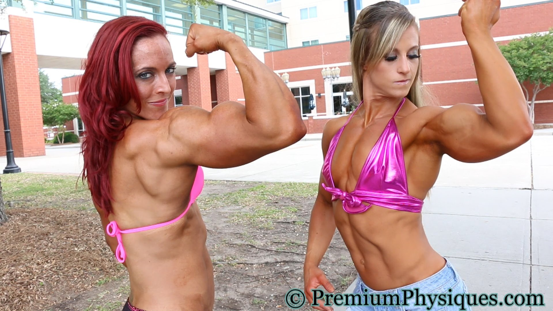 Katie Lee & Allison Schmohl – Biceps Battle