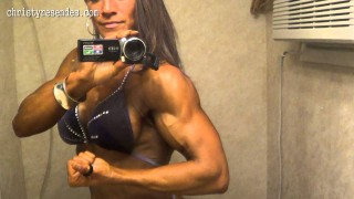 Christy Resendes – Posing Before Competition
