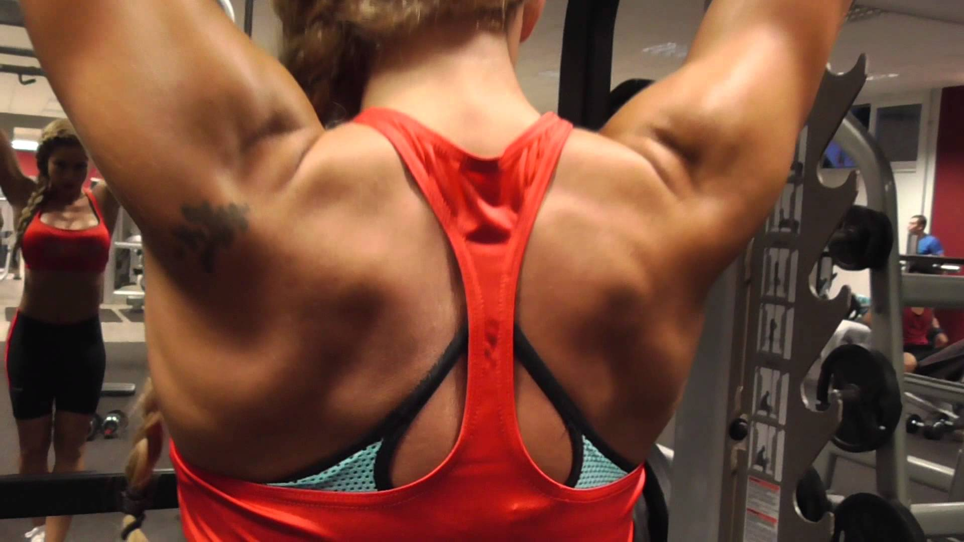 Valeria Ammirato – Back Workout
