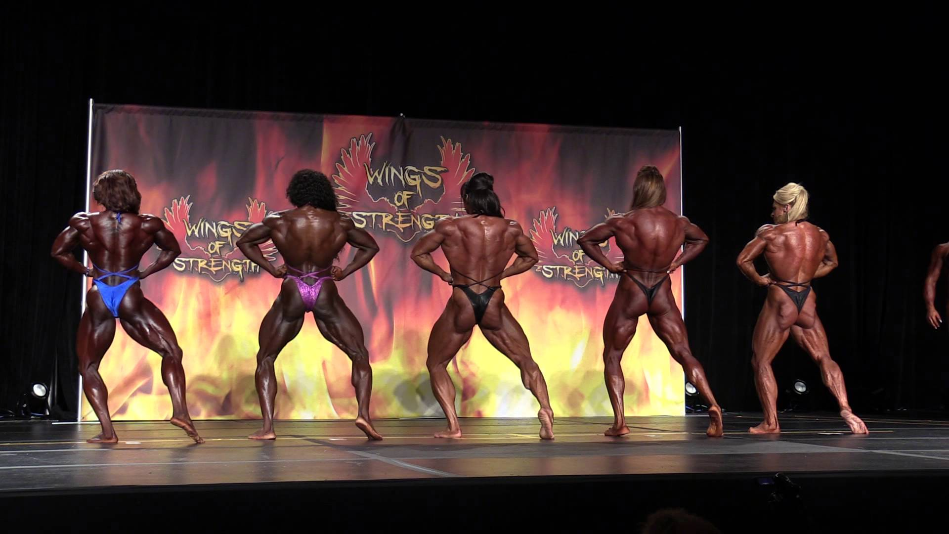 IFBB WIngs OF Strength Texas Pro 2015 – Women Bodybuilding