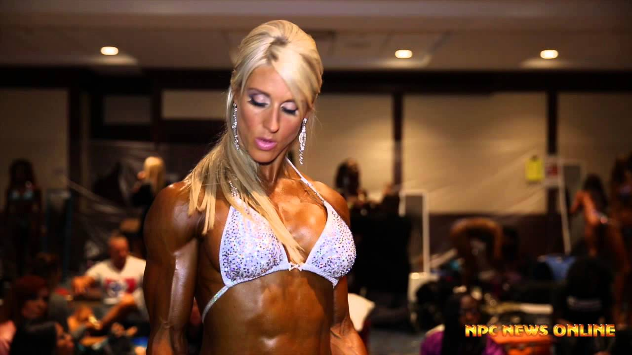 IFBB North American Championships 2015 – Figure Backstage