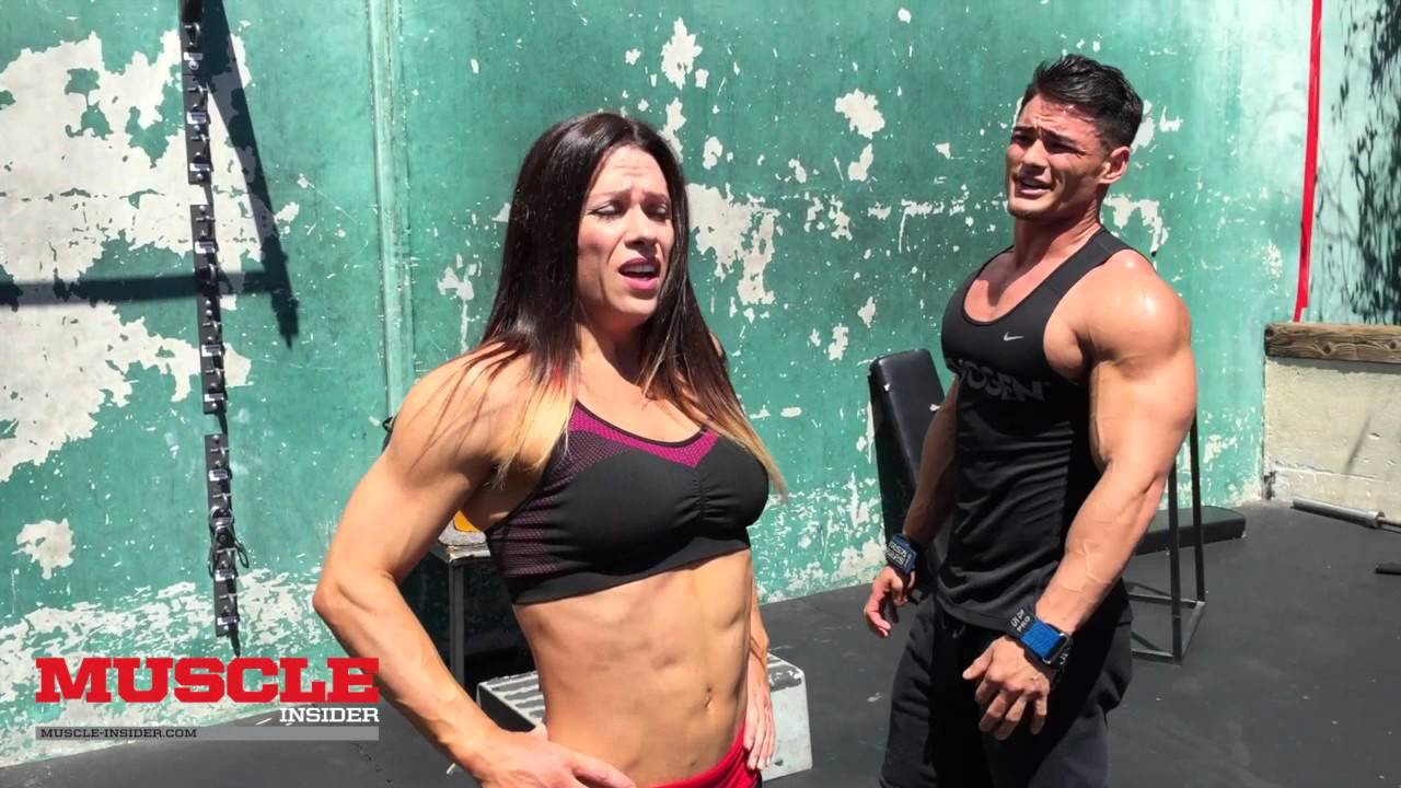 Oksana Grishina – Abs Workout