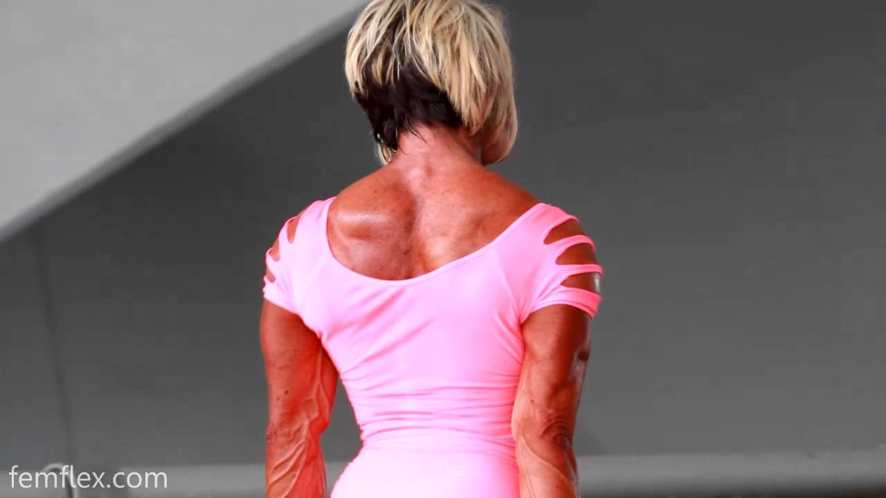Carrie Woolridge – Ripped Female Muscle