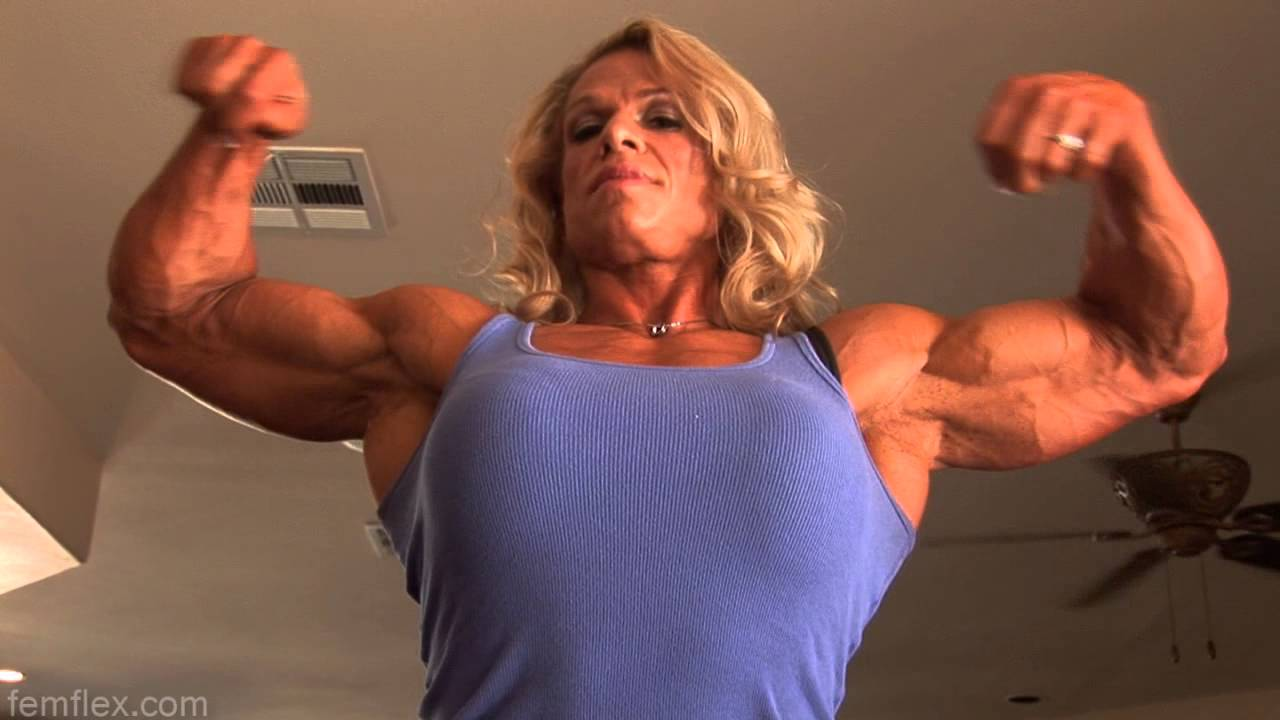 Tina Chandler – Huge Biceps