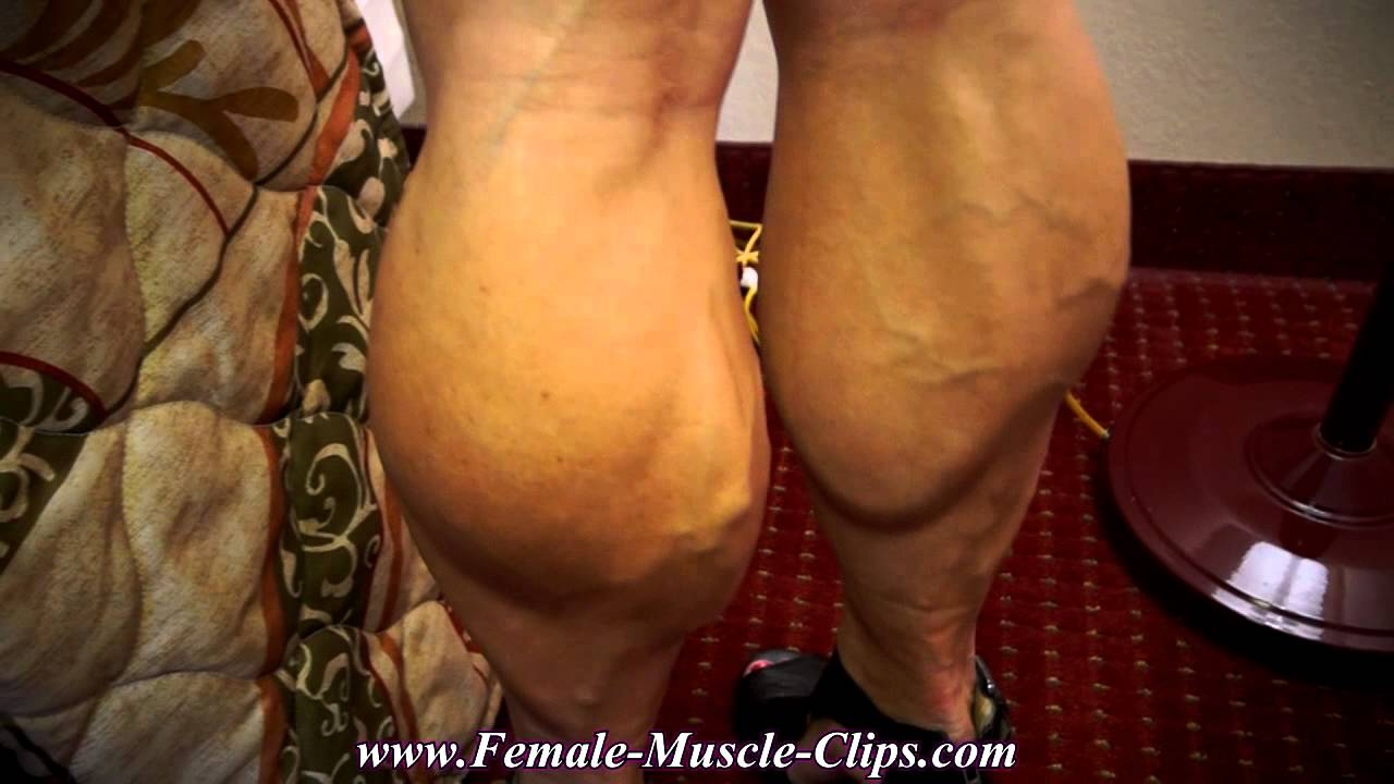 Tempest – Most Muscular Natural Women's Calves
