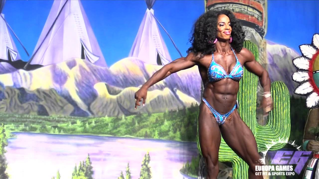 Susan Marie Smith – Phoenix Europa Games 2015 Women's Physique Winner