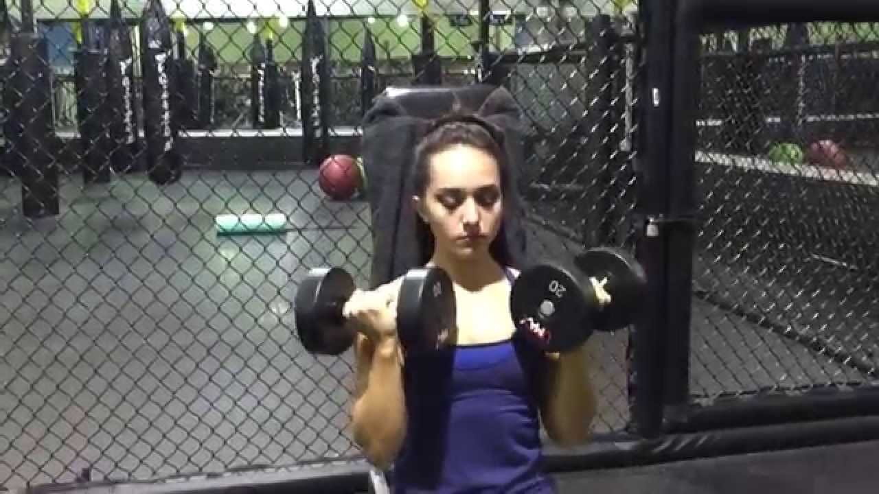 Vanessa Serros – Shoulder Workout