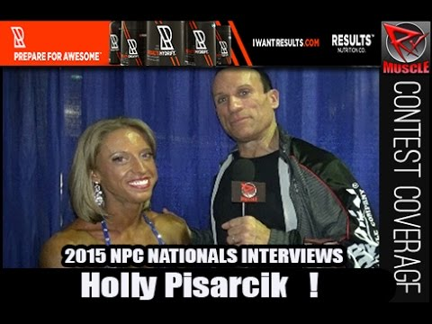 Holly Pisarcik Wins Women's Bodybuilding Overall At The NPC Nationals 2015
