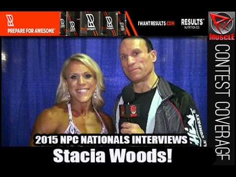 Stacia Woods Wins Women's Physique Overall At The NPC Nationals 2015