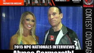 Alyssa Germeroth Wins Bikini Overall At The NPC Nationals 2015