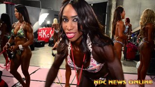 NPC Nationals 2015 – Women's Physique/Figure Pump Up Room