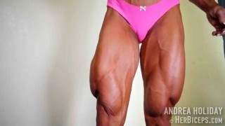 Andrea Holiday – Mind-Blowing Quads