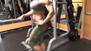 Erica Cordie – Calves Workout