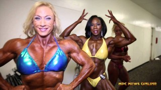 IFBB North American Championships 2015 – Women's Bodybuilding Backstage