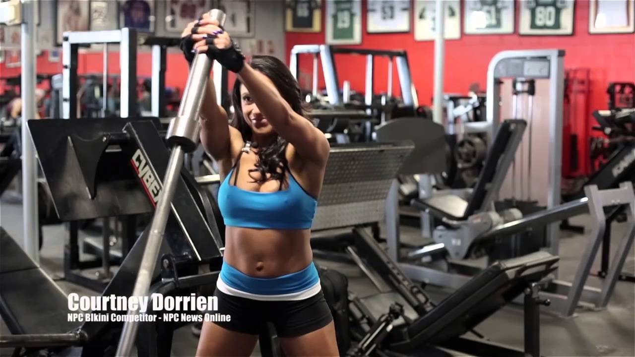 Sandra Lombardo – Chest Workout