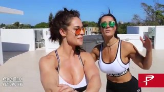 Celeste Braun & Sue Lasmar – Outdoor Rooftop Workout