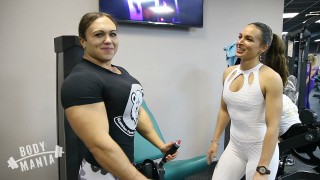 Natalya Trukhina – Female Bodybuilder vs Bikini Girl