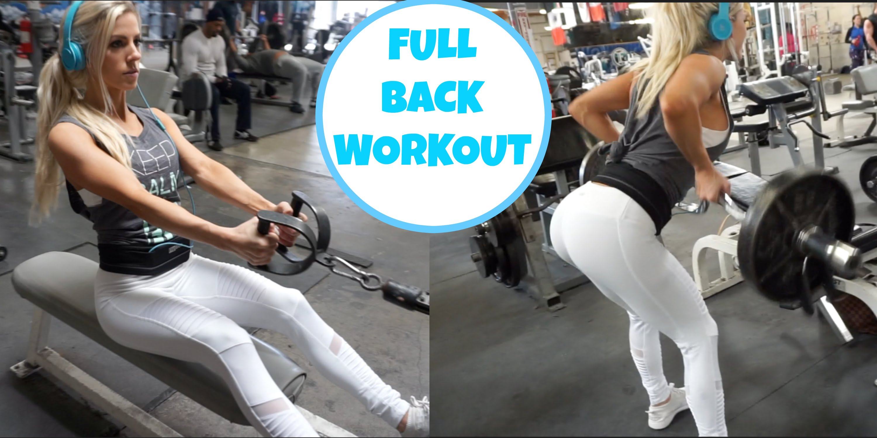 Heidi Somers – Back & Shoulders Workout