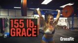 Brooke Wells Scales Grace Up To 70 kg (155 lb)