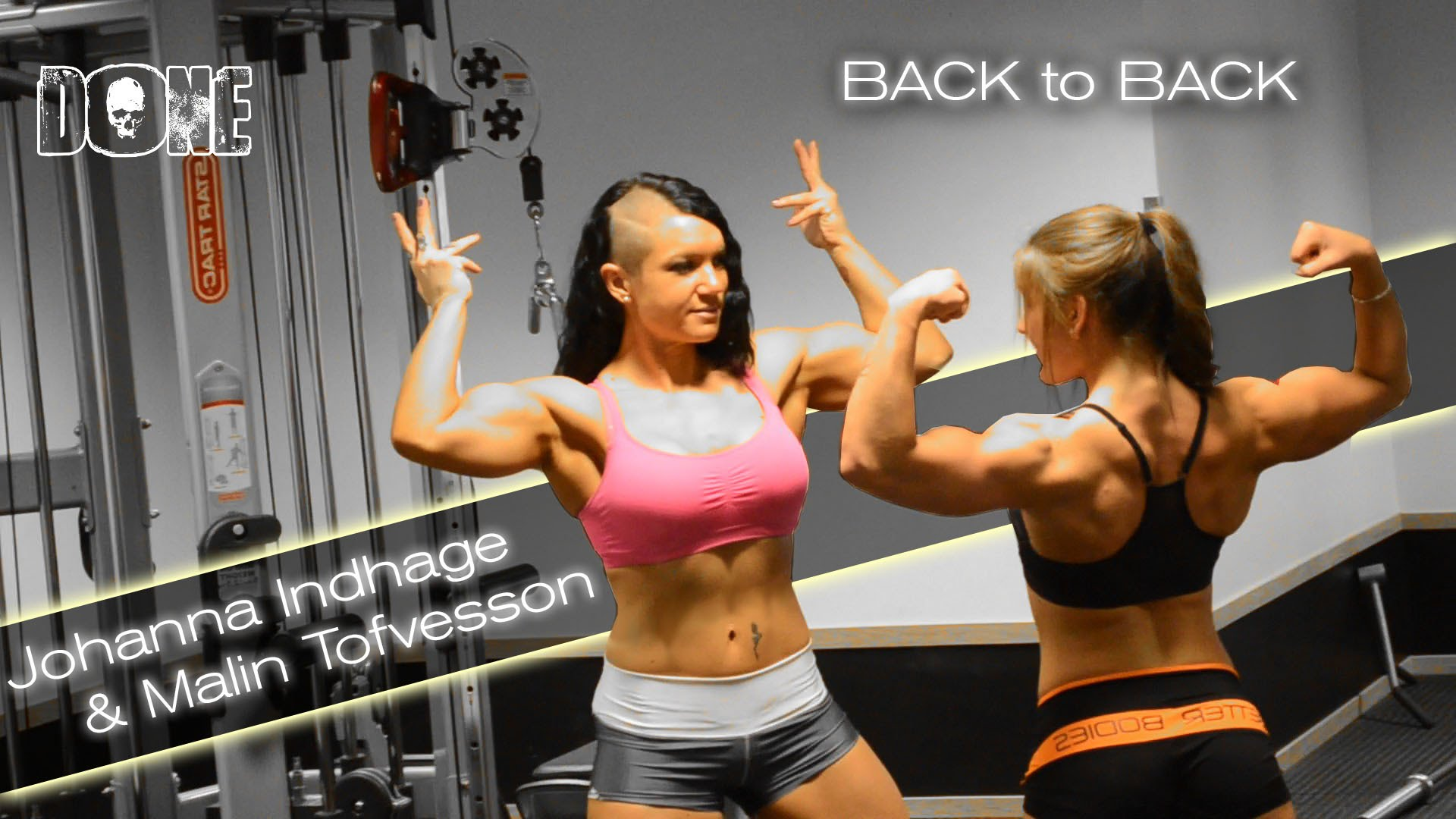 Johanna Indhage & Malin Tofvesson – Back Workout