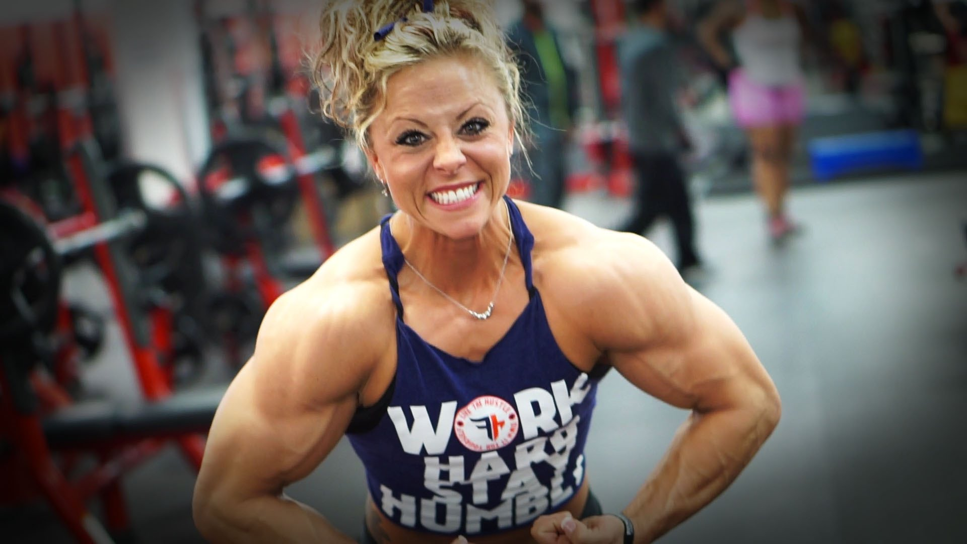 Danielle Reardon – Back Workout / 4 Weeks Out Arnold Classic 2016