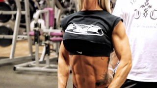 Caroline Aspenskog – Dumbbell Side Raises