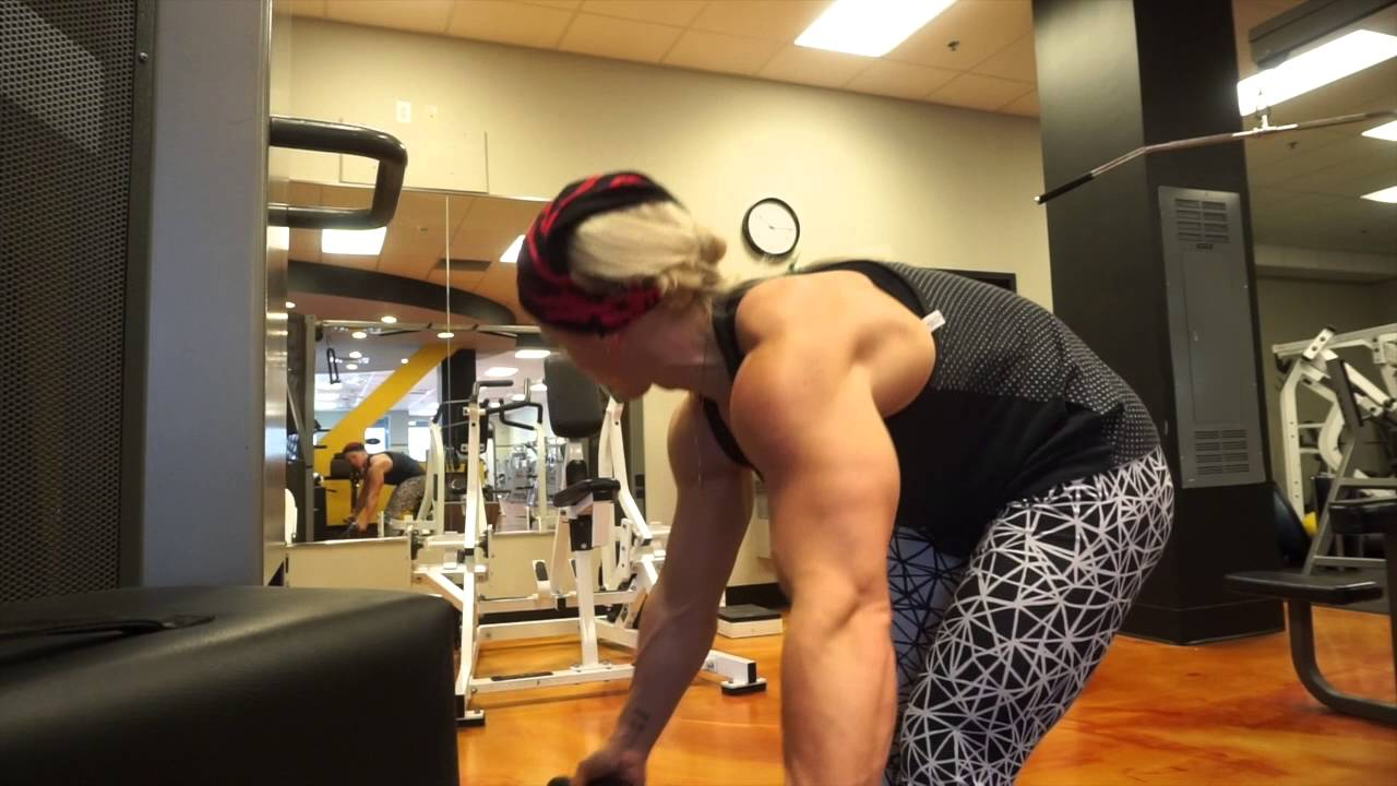 Kira Neuman – 4 Weeks Out Arnold Classic 2016