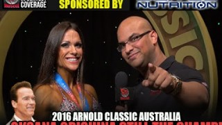 Oksana Grishina Wins At Arnold Classic Australia 2016