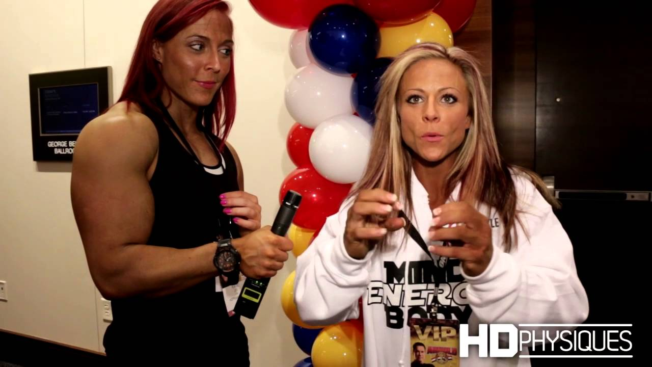 Danielle Reardon At The Arnold Classic 2016